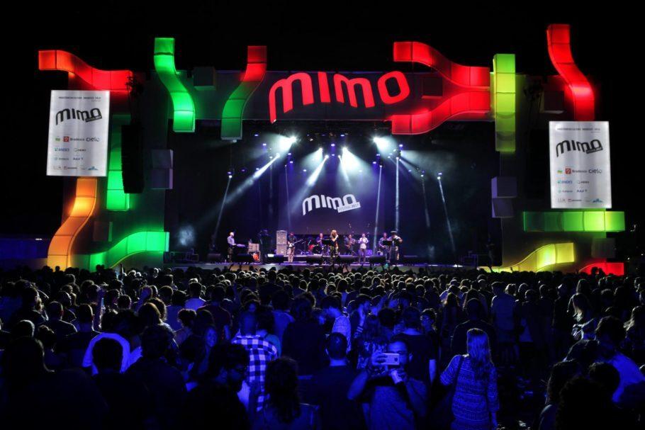 Palco no Festival Mimo Rio 2017