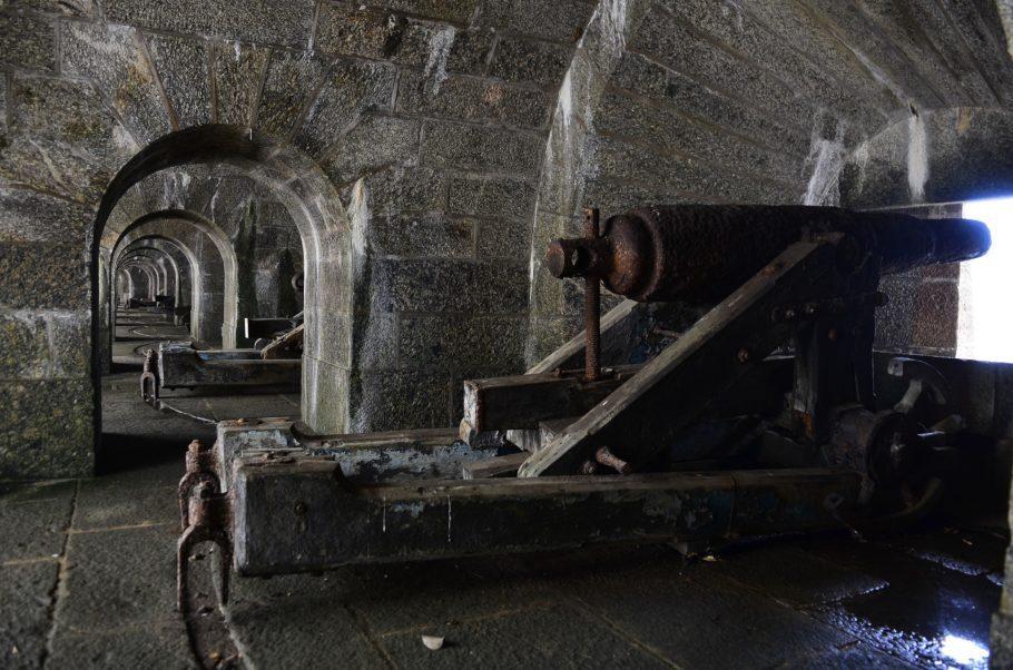Canhões no Forte de São João