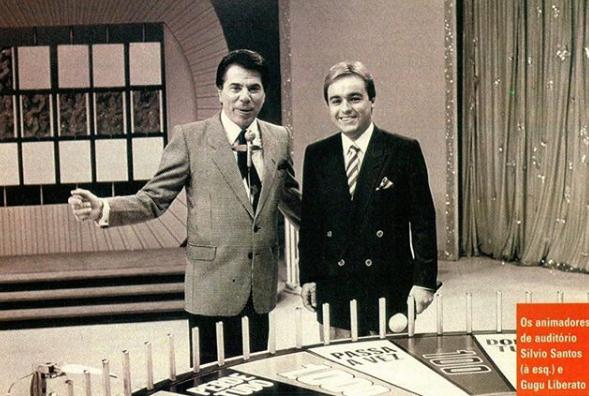 Silvio Snatos e Gugu Liberato
