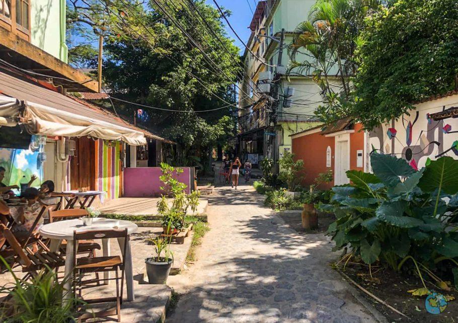 ruas da ilha da gigoia