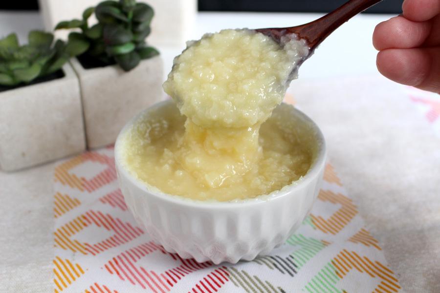 Cobertura cremosa de coco sem leite condensado
