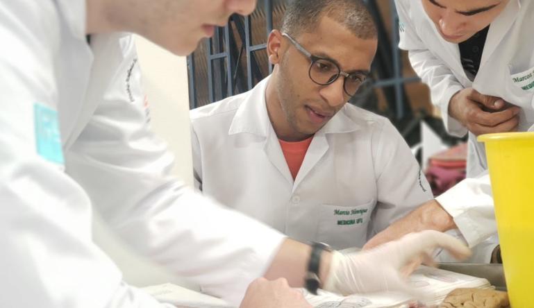 estudante de medicina Marcinho