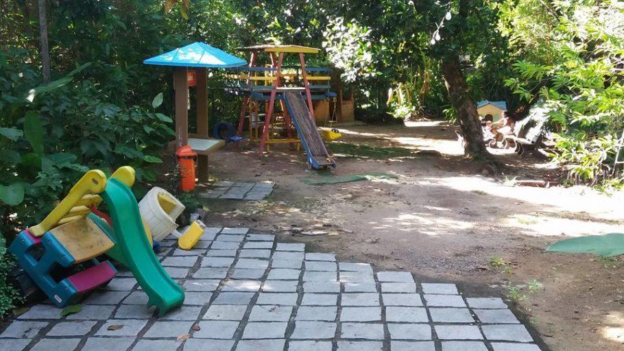 Parquinho infantil no Parque do Martelo