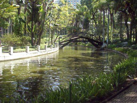 lagoa dos barcos parque municipal de bh