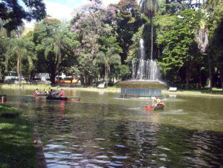 lagoa dos barcos parque municipal belo horizonte