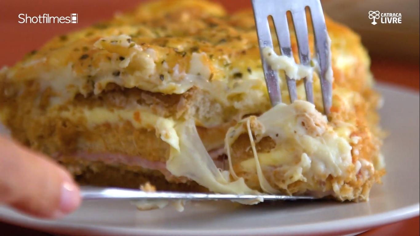 Aprenda a fazer sanduíche de forno gratinado
