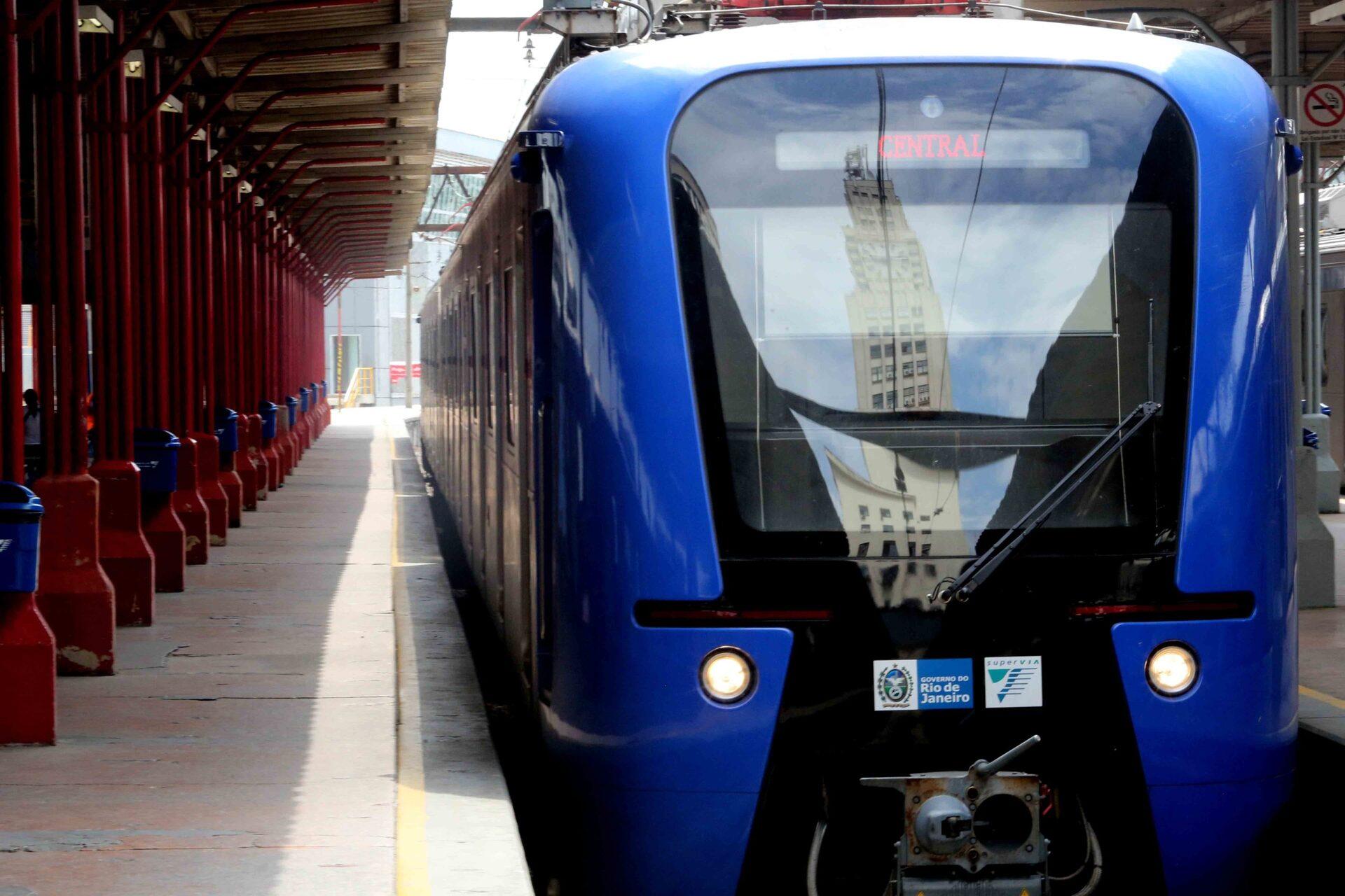 No Rio, SuperVia retira 40 trens de circulação e causa transtornos