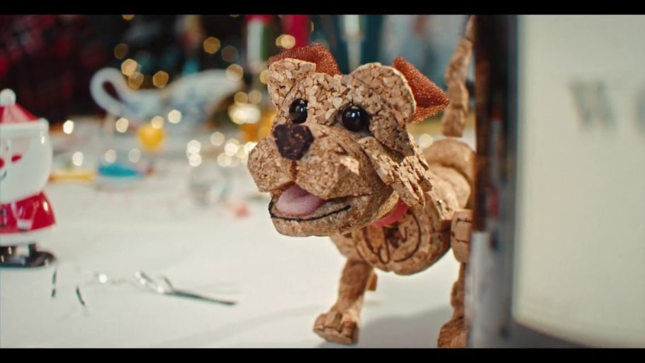 Campanha de Natal da ONG Dogs Trust