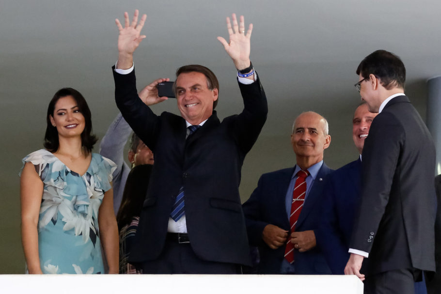 Jair Bolsonaro e Michelle