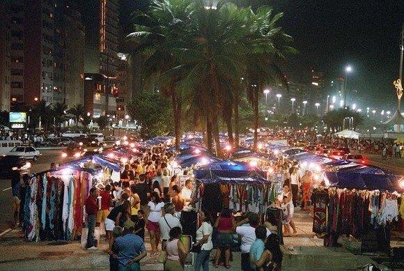 Feira Noturna de Copacabana