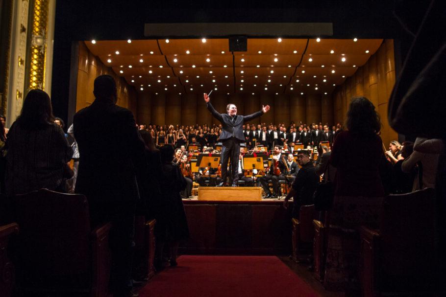 Maestro Roberto Minczuk, titular da Orquestra Sinfônica Municipal de São Paulo