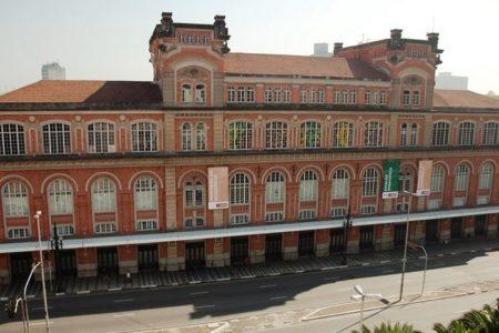 prédio onde se encontra o memorial da resistência de sp e a estação pinacoteca