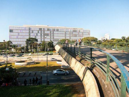 Museu de arte contemporânea no parque ibirapuera