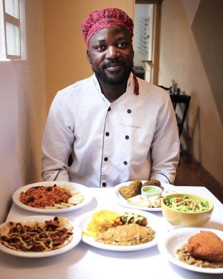 pitchol criou o congolinaria restaurantes em são paulo de refugiados