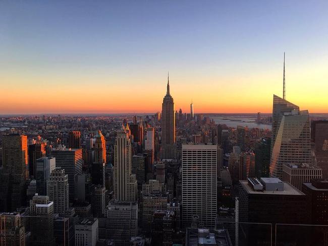Vista de Nova York a partir do Top of the Rock