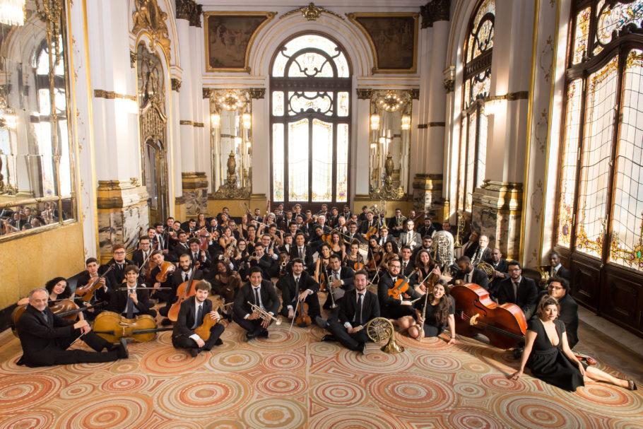 Essa é a maravilhosa Orquestra Experimental de Repertório - concerto no municipal