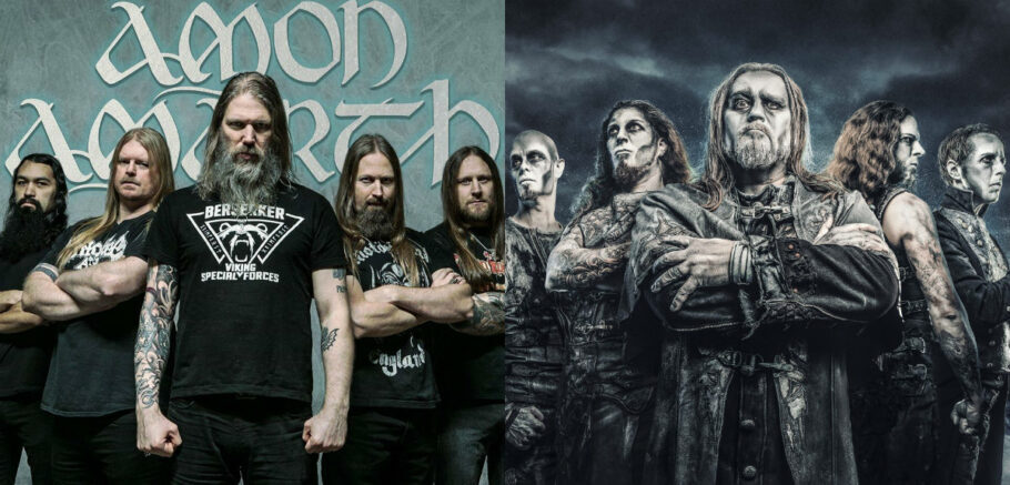 Amon Amarth e Power Wolf