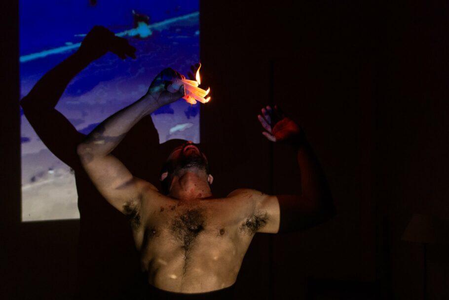 Aquilo que Acontece Entre Nascer e Morrer, teatro no Rio