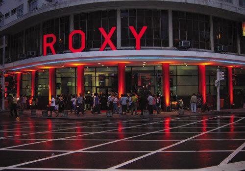 fachada do Cine Roxy
