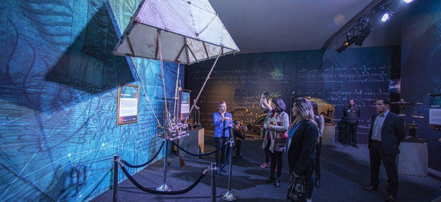 Exposição Da Vinci Experience e suas invenções