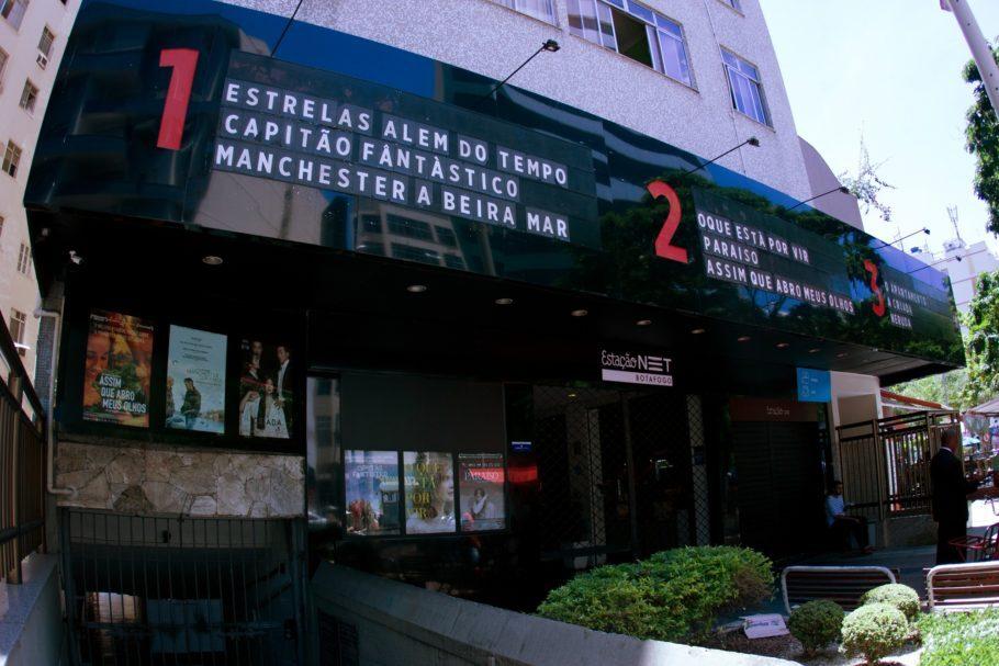 Estação NET Botafogo - cinemas de rua no RJ