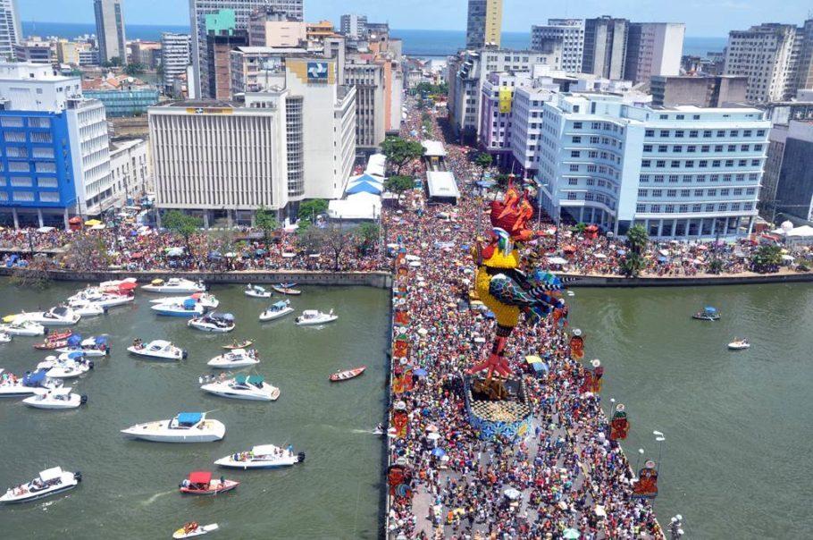 galo da madrugada no carnaval de são paulo