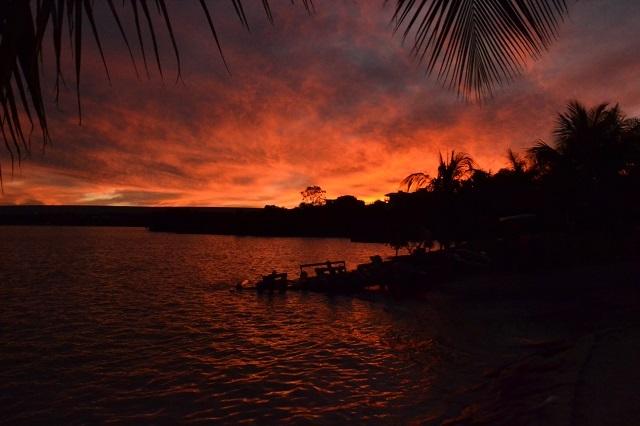 Lago Corumbá, em Caldas Novas