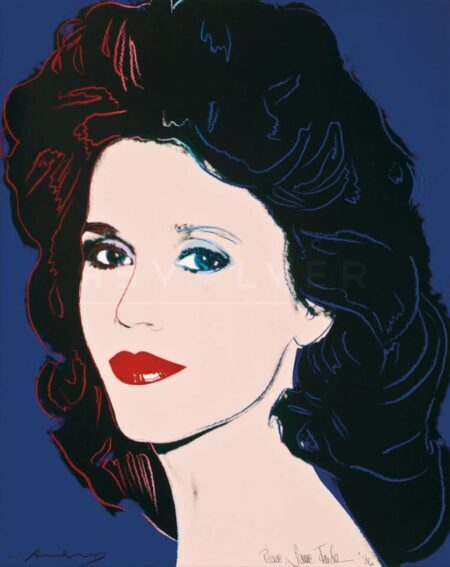 Jane Fonda, de Andy Warhol, Pop Art