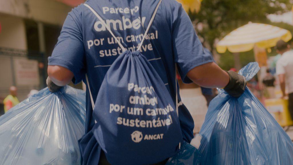 Campanha reciclagem Carnaval