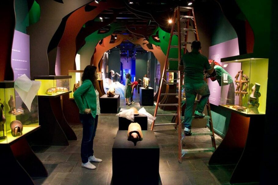Museu do Folclore, nos arredores do Largo do Machado