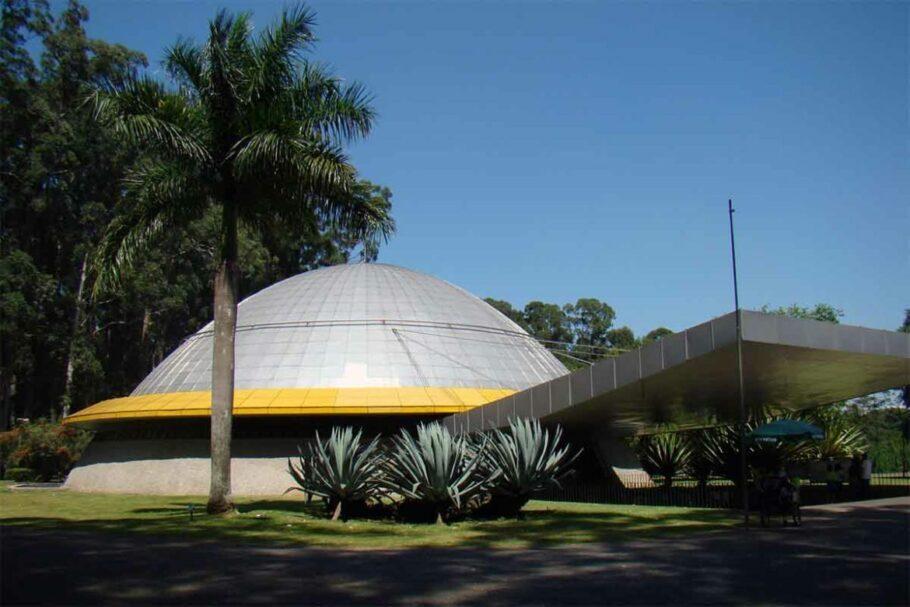 observatório astronômico planetário ibirapuera