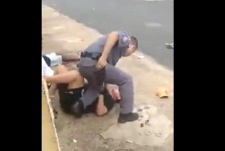 policial mulher grávida