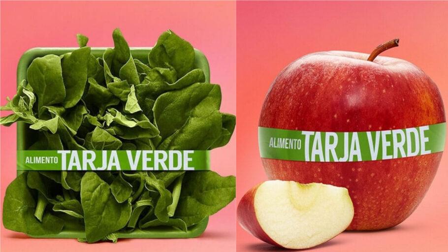Alimentos Tarja Verde