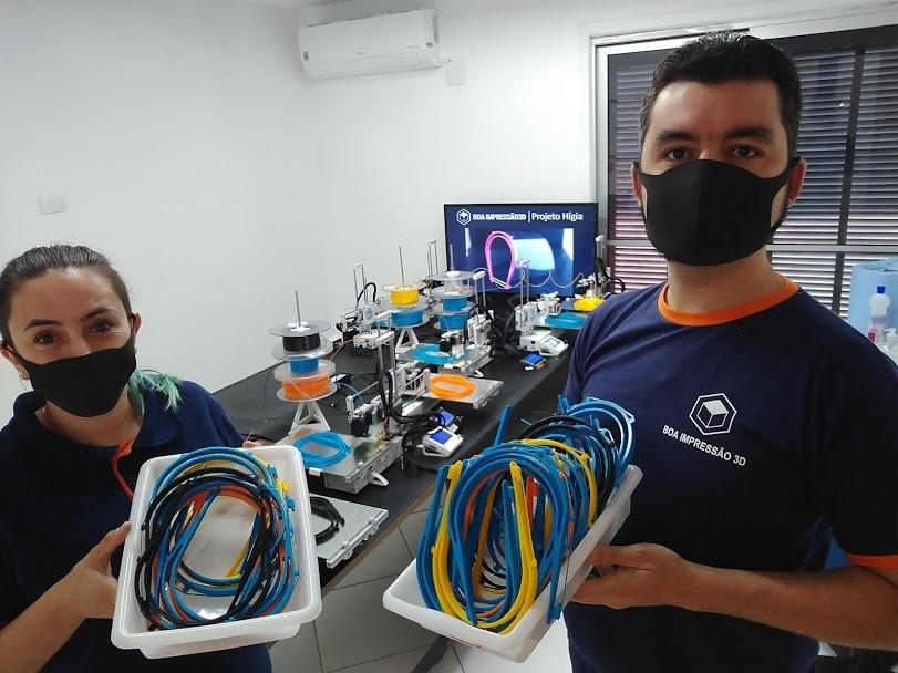 Doações de Empresas - Boa Impressão 3D