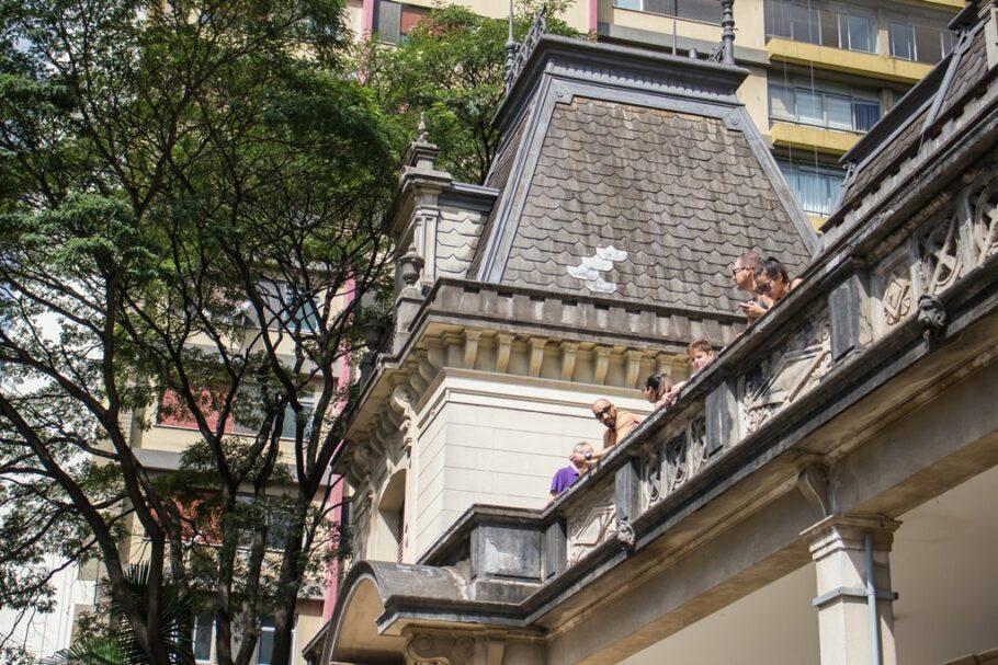 fachada casa das rosas