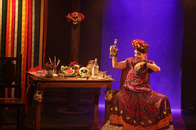 Christiane Tricerri em Frida Kahlo viva la vida