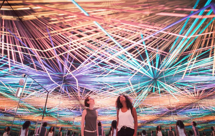 experiência imersiva no MUSEHUM