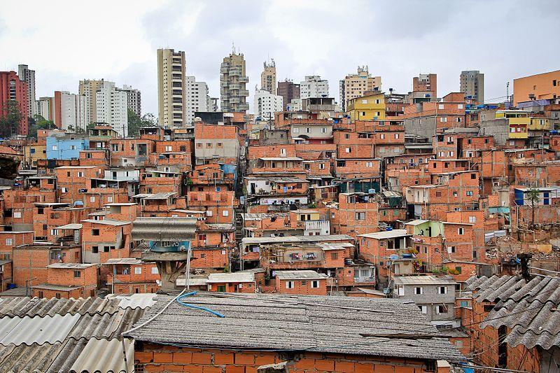 Paraisópolis, favela na zona sul de São Paul