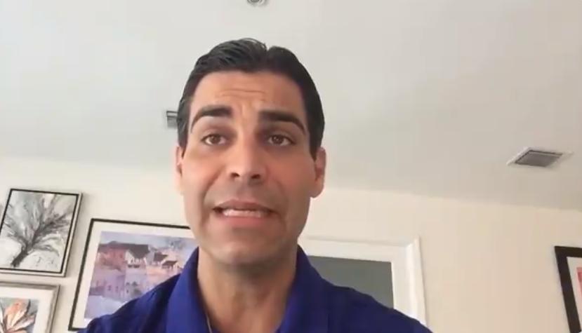 O prefeito de Miami, Francis Suarez