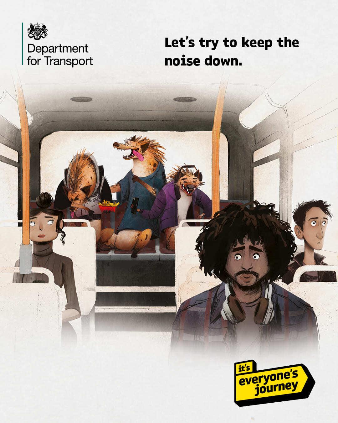 Campanha do Departamento de Transporte da Inglaterra