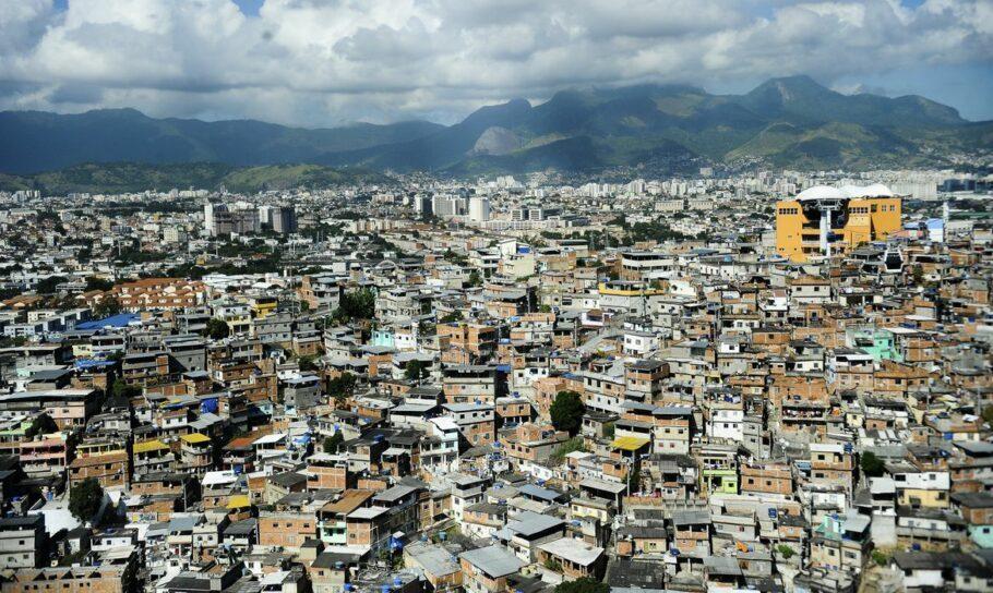 Complexo do Alemão, na zona norte do Rio de Janeiro