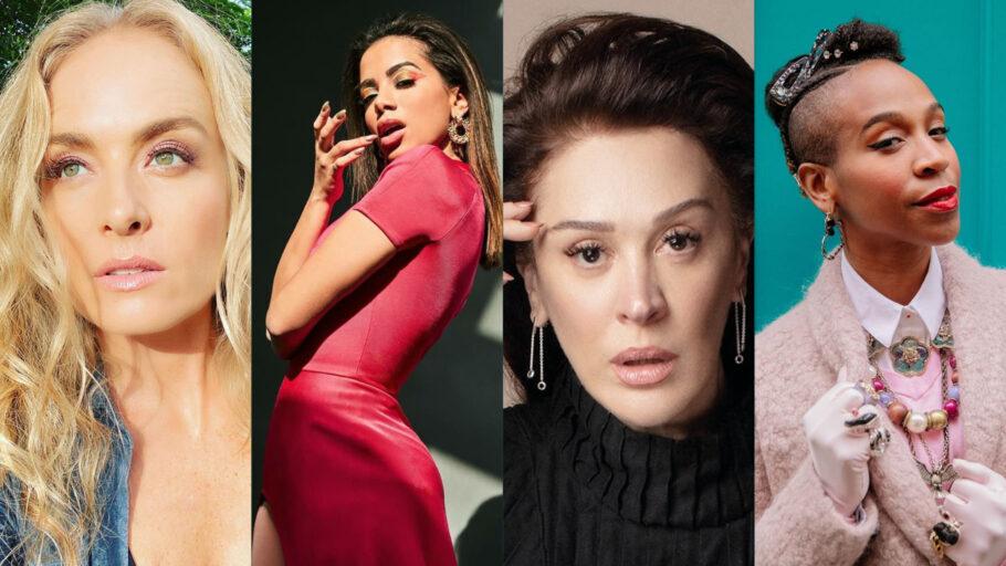 Festival AoVivoPelaVida - Angélica, Anitta, Claudia Raia e Karol Conká