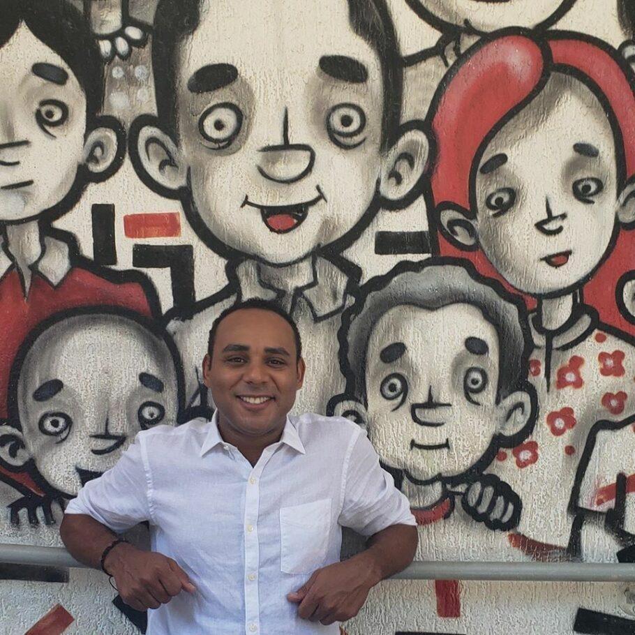 Gilson Rodrigues, líder comunitário de Paraisópolis