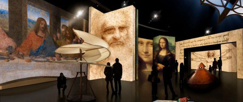 exposição virtual Leonardo Da Vinci