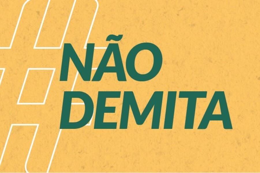 Campanha #NãoDemita