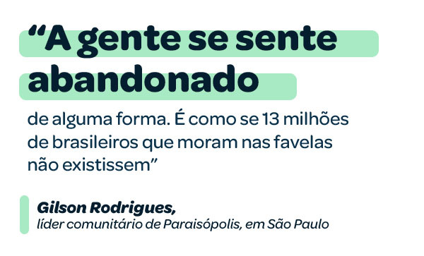 """""""A gente se sente abandonado"""", diz Gilson Rodrigues"""