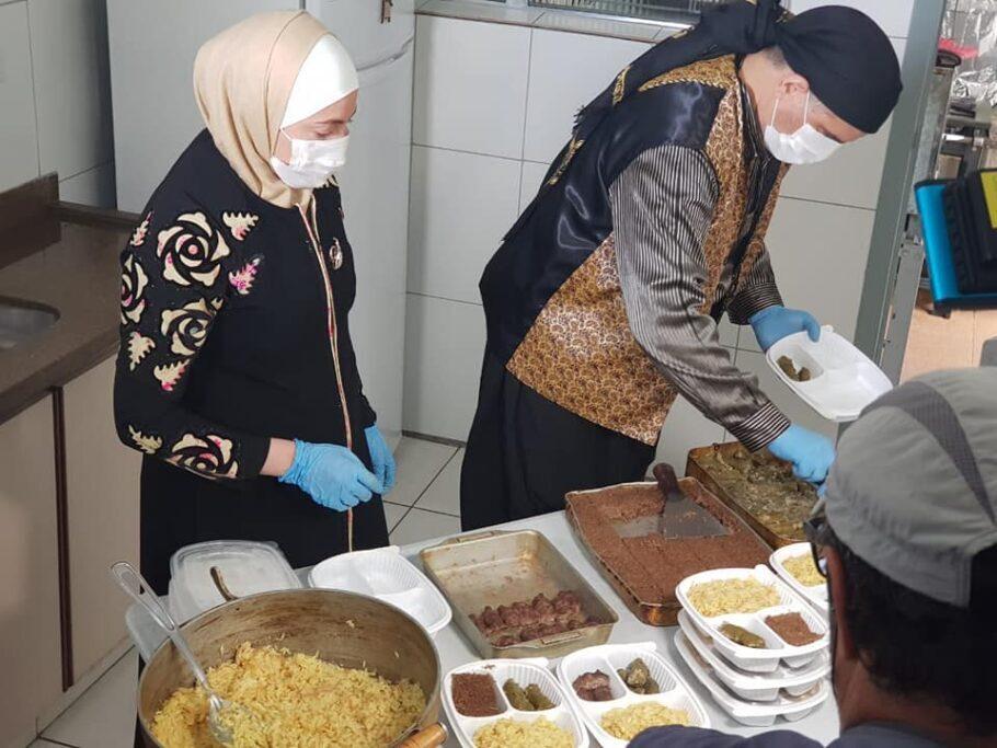 Talal Al-Tinawi e Ghazal Baranbo