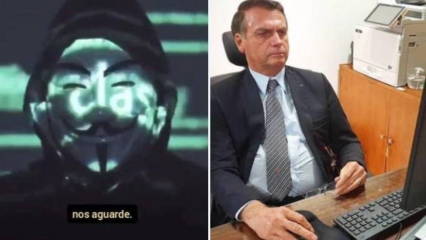 Anonymous e Bolsonaro