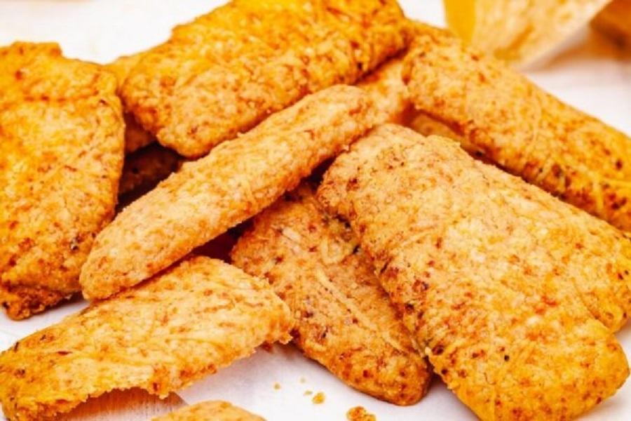 biscoito de parmesão