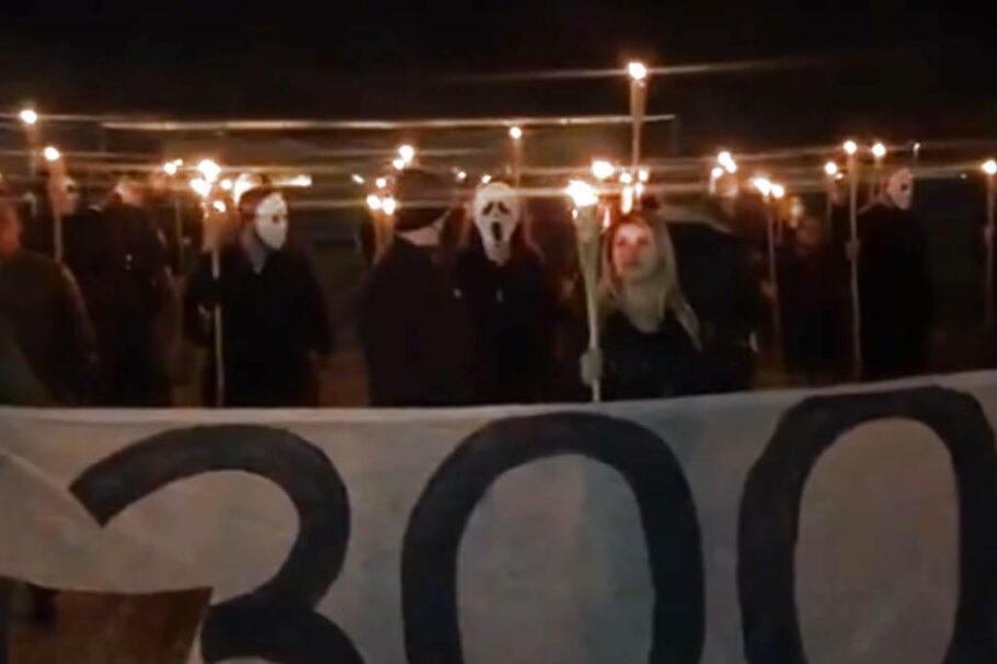 ato de manifestantes pró-bolsonaro